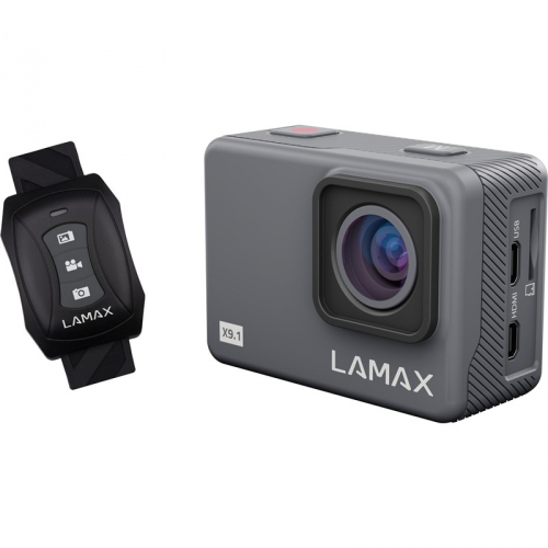Outdoorová kamera LAMAX X9.1 šedá
