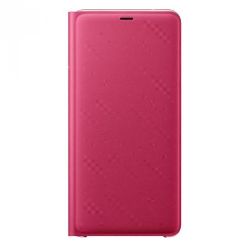 Pouzdro na mobil flipové Samsung pro Galaxy A9 růžové