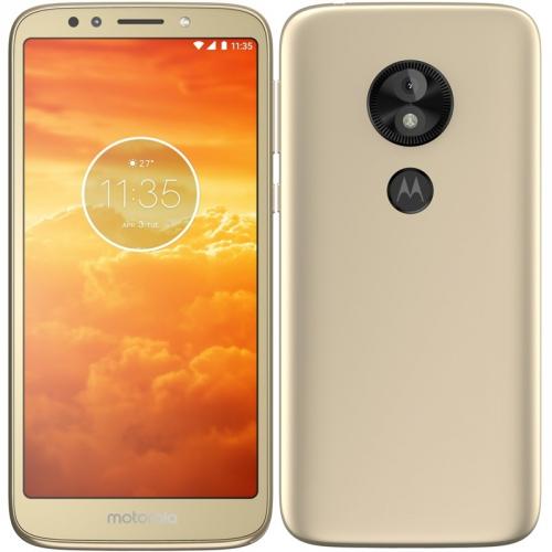 Mobilní telefon Motorola E5 Play Dual SIM zlatý