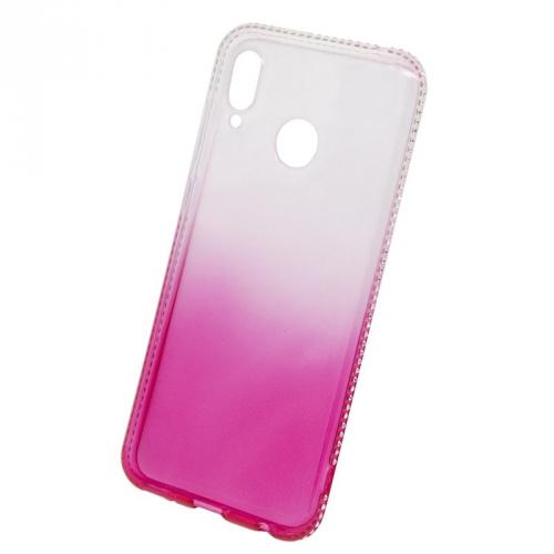 Kryt na mobil Beeyo Diamond Frame na Honor Play růžový