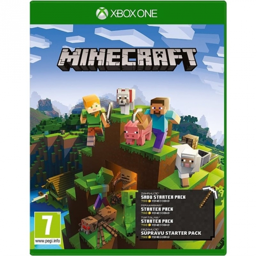 Hra Microsoft Xbox One Minecraft Starter Collection