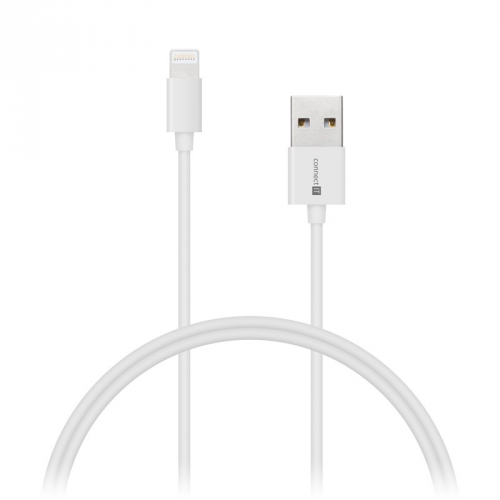 Kabel Connect IT Wirez USB/Lightning, 1m bílý