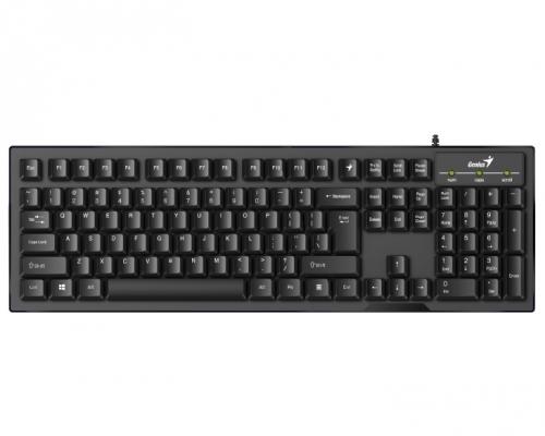 Klávesnice Genius Smart KB-102 CZ+SK layout černá/stříbrná