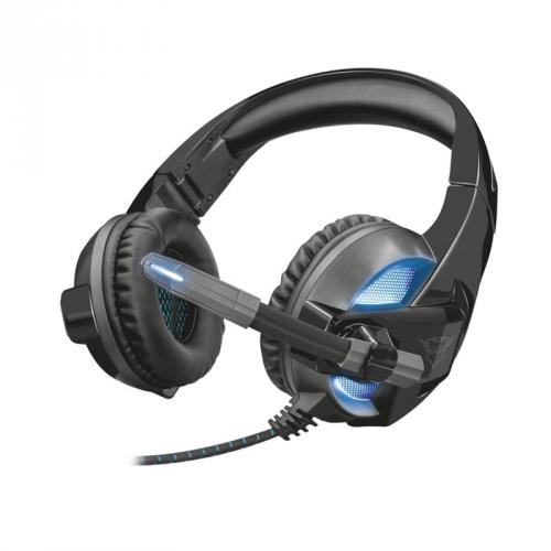 Headset Trust GXT 410 Rune Illuminated černý