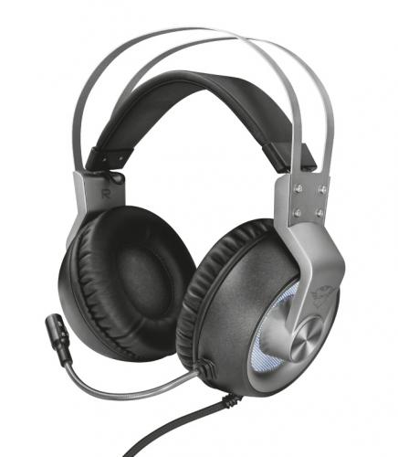 Headset Trust GXT 435 Ironn 7.1 černý