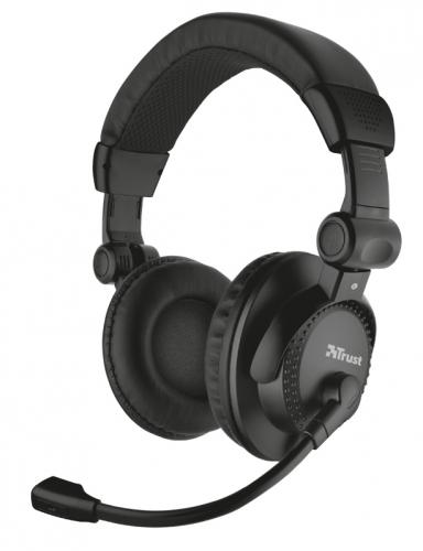 Headset Trust Como černý