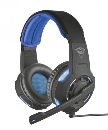 Headset Trust GXT 350 7.1 Bass černý