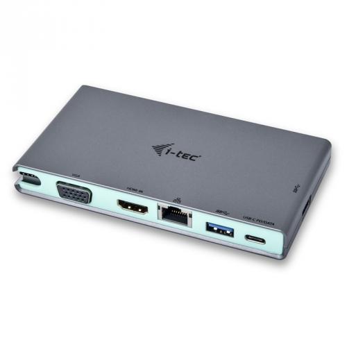 Dokovací stanice i-tec USB-C, 4K HDMI, VGA