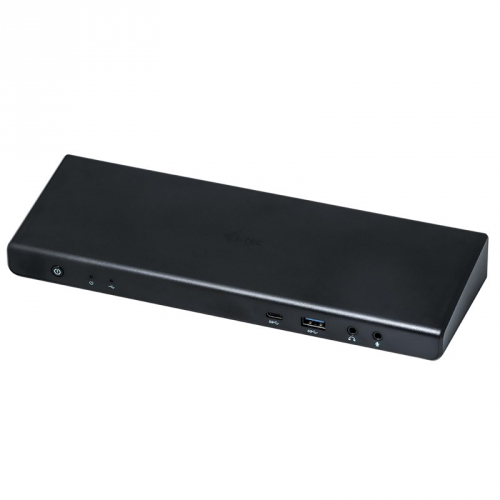 i-tec USB 3.0 / USB-C / Thunderbolt 3 Dual Display + Power Adapter 100W