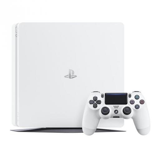 Herní konzole Sony PlayStation 4 500GB bílá