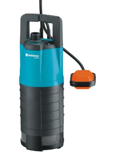Gardena 5500/3,ponorné, tlakové černé/modré