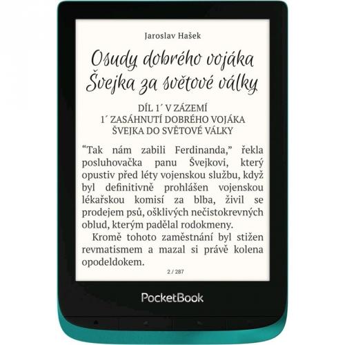 Čtečka e-knih Pocket Book 627 Touch Lux 4 - Emerald