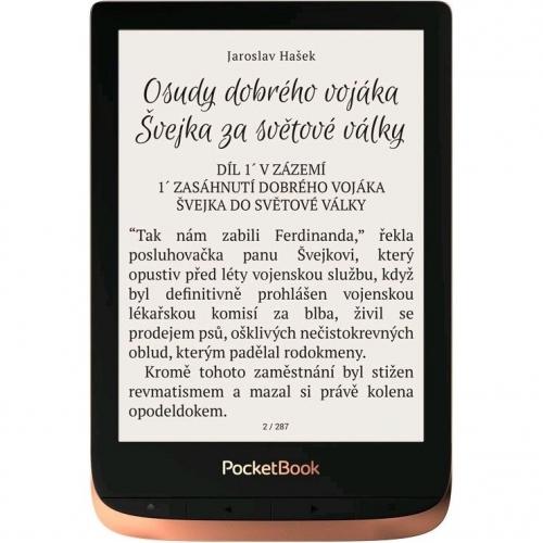 Čtečka e-knih Pocket Book 632 Touch HD 3 - Spicy Copper