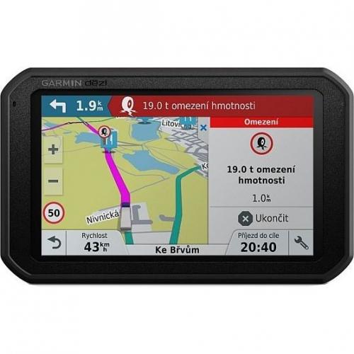 Navigační systém GPS Garmin dezl 780T-D Lifetime Europe45 černá + DOPRAVA ZDARMA