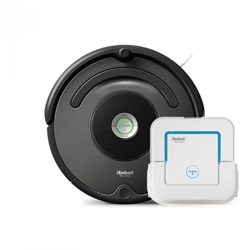 iRobot Roomba 676 + iRobot Braava jet 240