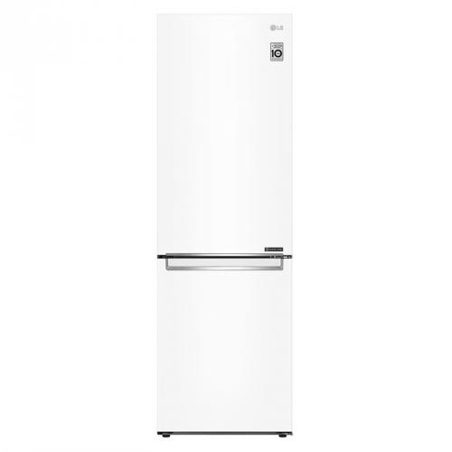 Chladnička s mrazničkou LG GBB61SWJZN bílá + LG 10 let záruka na Lineární kompresor