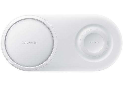 Nabíjecí podložka Samsung Duo Pad (EP-P5200TWEGWW) bílá