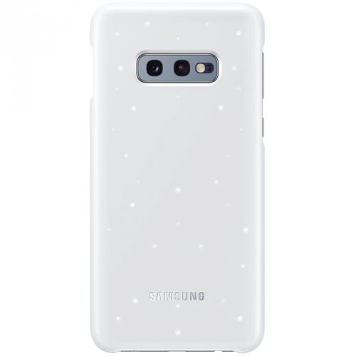 Kryt na mobil Samsung LED pro Galaxy S10e (EF-KG970CWEGWW) bílý