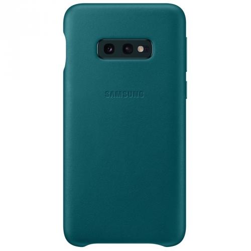 Kryt na mobil Samsung pro Galaxy S10e (EF-VG970LGEGWW) zelený