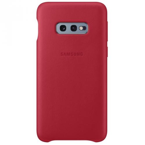 Kryt na mobil Samsung pro Galaxy S10e (EF-VG970LREGWW) červený