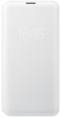 Pouzdro na mobil flipové Samsung pro Galaxy S10e (EF-NG970PWEGWW) bílé