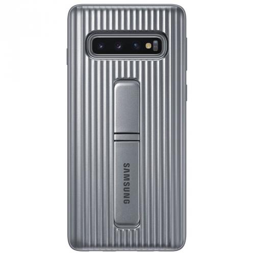Kryt na mobil Samsung pro Galaxy S10 (EF-RG973CSEGWW) stříbrný