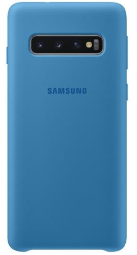 Kryt na mobil Samsung pro Galaxy S10 (EF-PG973TLEGWW) modrý