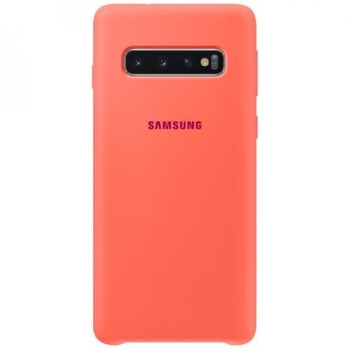 Kryt na mobil Samsung pro Galaxy S10 - Berry Pink (EF-PG973THEGWW)