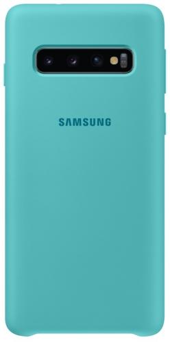 Kryt na mobil Samsung pro Galaxy S10 (EF-PG973TGEGWW) zelený