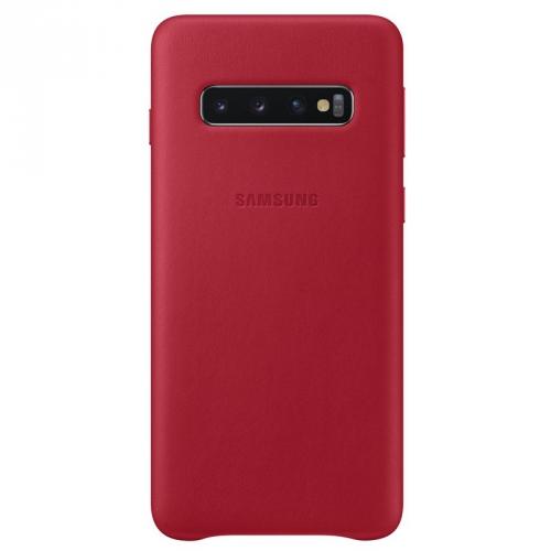 Kryt na mobil Samsung pro Galaxy S10 (EF-VG973LREGWW) červený