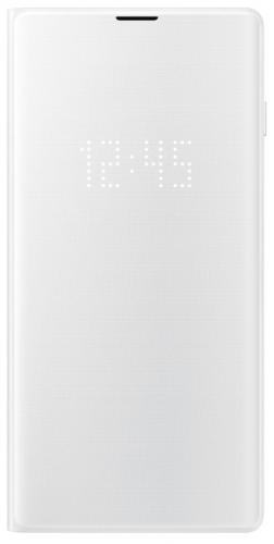 Pouzdro na mobil flipové Samsung pro Galaxy S10 (EF-NG973PWEGWW) bílé