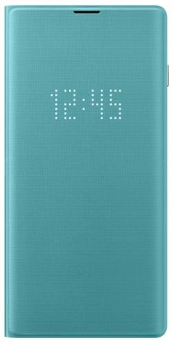 Pouzdro na mobil flipové Samsung pro Galaxy S10 (EF-NG973PGEGWW) zelené