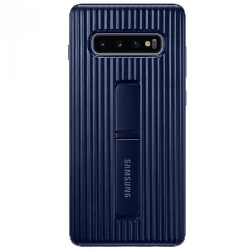 Kryt na mobil Samsung pro Galaxy S10+ (EF-RG975CBEGWW) modrý