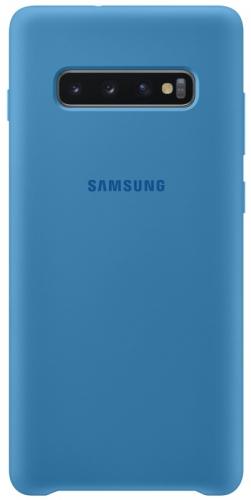 Kryt na mobil Samsung pro Galaxy S10+ (EF-PG975TLEGWW) modrý