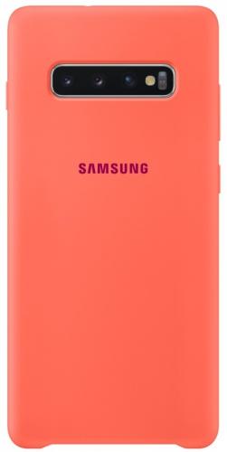 Kryt na mobil Samsung pro Galaxy S10+ - Berry Pink (EF-PG975THEGWW)