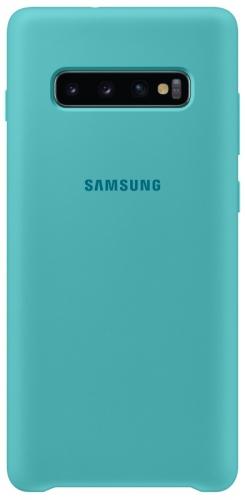 Kryt na mobil Samsung pro Galaxy S10+ (EF-PG975TGEGWW) zelený
