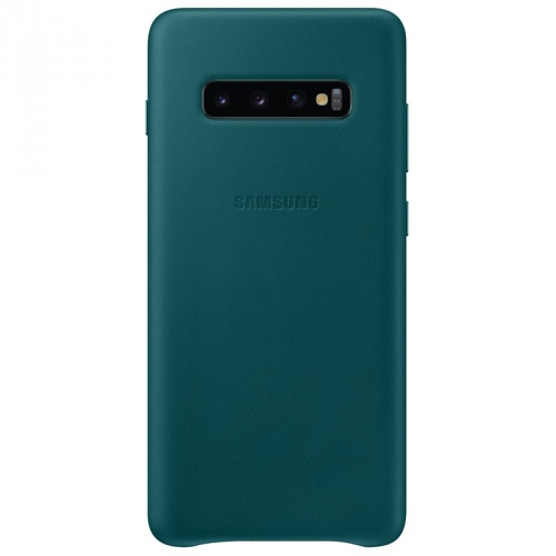 Kryt na mobil Samsung pro Galaxy S10+ (EF-VG975LGEGWW) zelený