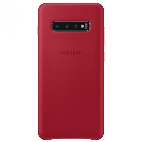 Kryt na mobil Samsung pro Galaxy S10+ (EF-VG975LREGWW) červený