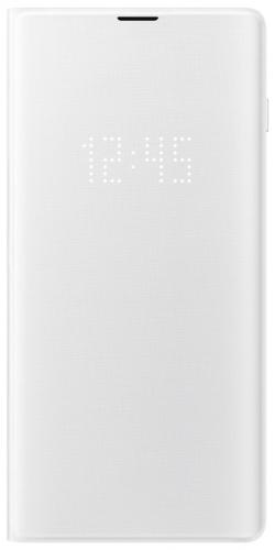 Pouzdro na mobil flipové Samsung pro Galaxy S10+ (EF-NG975PWEGWW) bílé