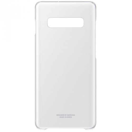 Kryt na mobil Samsung pro Galaxy S10+ (EF-QG975CTEGWW) průhledný