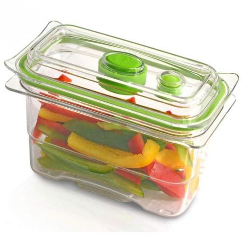 Dóza na potraviny Bionaire FoodSaver FFC002X zelená/průhledná