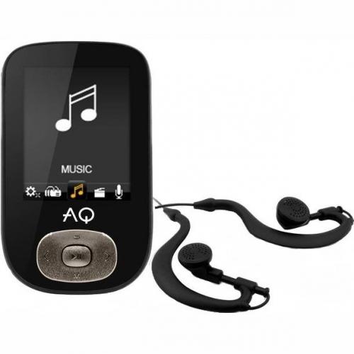 MP3 přehrávač AQ MP03 černý