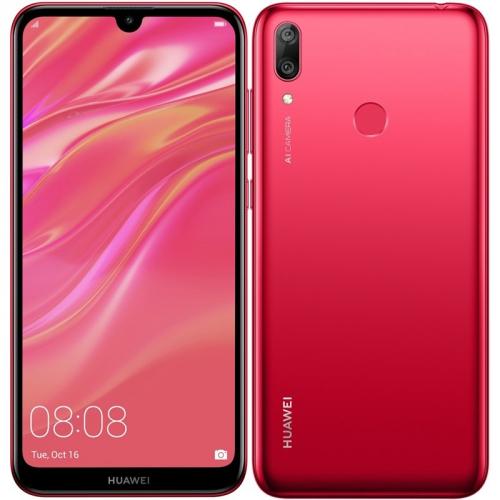 Mobilní telefon Huawei Y7 2019 Dual SIM (SP-Y719DSROM) červený