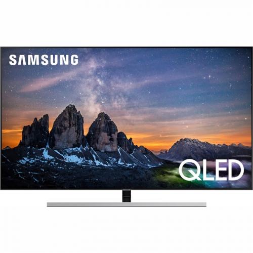 Televize Samsung QE55Q80R stříbrná