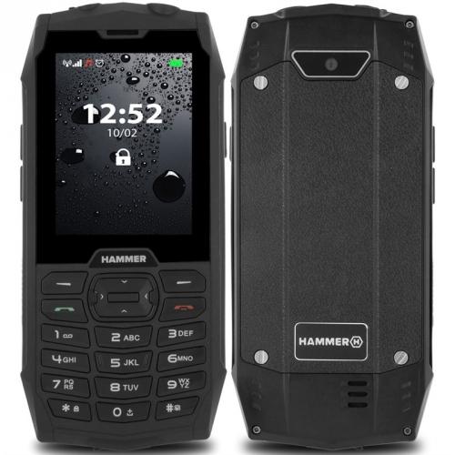 Mobilní telefon myPhone Hammer 4 Dual SIM černý