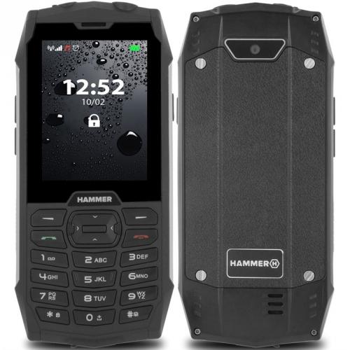 Mobilní telefon myPhone Hammer 4 Dual SIM stříbrný