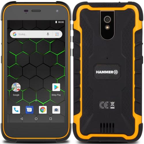Mobilní telefon myPhone Hammer Active 2 oranžový