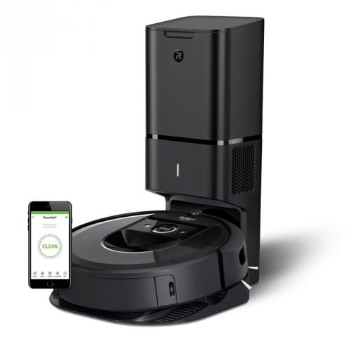 Robotický vysavač iRobot Roomba i7+ černý