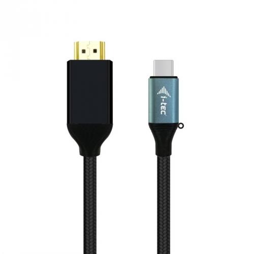 Kabel i-tec USB-C/HDMI, 1,5m černý