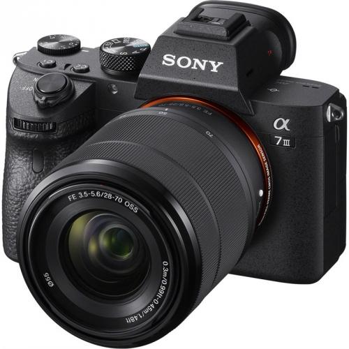 Digitální fotoaparát Sony Alpha 7 III + 28-70 OSS černý
